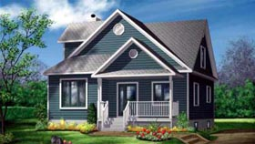 Farmhouse House Plan 49359 Elevation