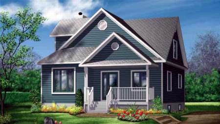 Farmhouse House Plan 49359 Elevation