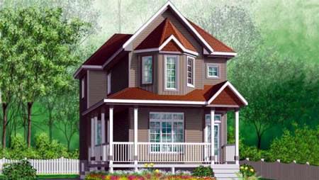 Victorian House Plan 49360 Elevation
