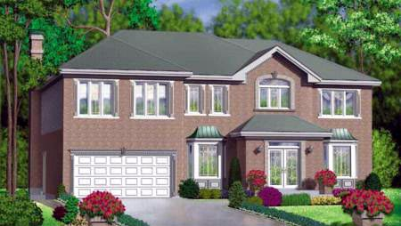 Traditional House Plan 49362 Elevation