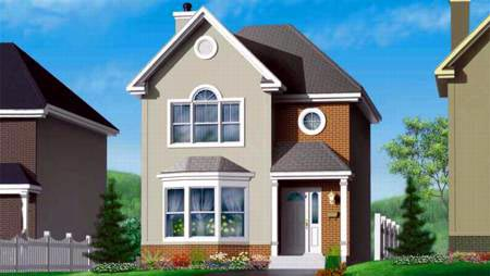 House Plan 49371 Elevation