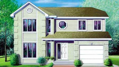 Traditional House Plan 49372 Elevation