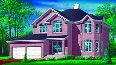 Traditional House Plan 49373 Elevation
