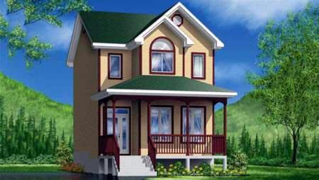 Craftsman House Plan 49374 Elevation