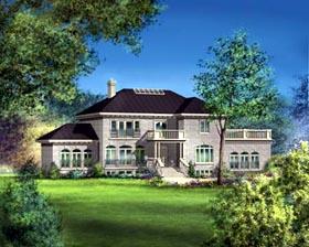 House Plan 49377 Elevation