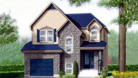 Tudor House Plan 49382 Elevation