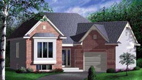 Traditional House Plan 49385 Elevation