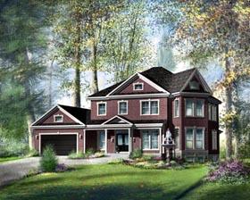 House Plan 49392 Elevation