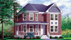 Victorian House Plan 49393 Elevation