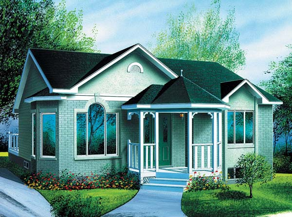 Ranch House Plan 49396 Elevation
