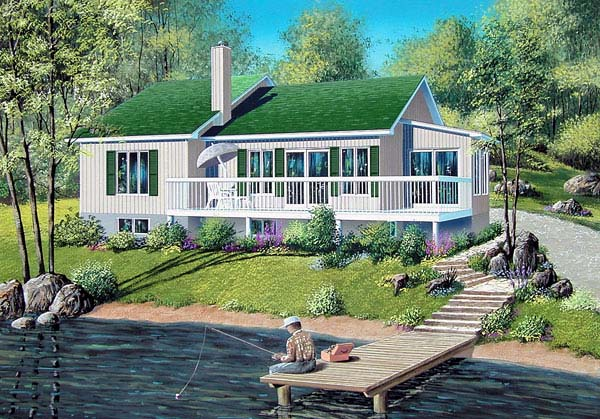 Ranch House Plan 49397 Elevation