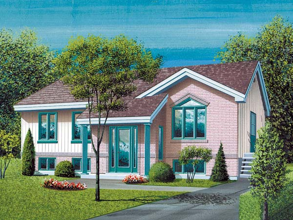 Ranch House Plan 49401 Elevation