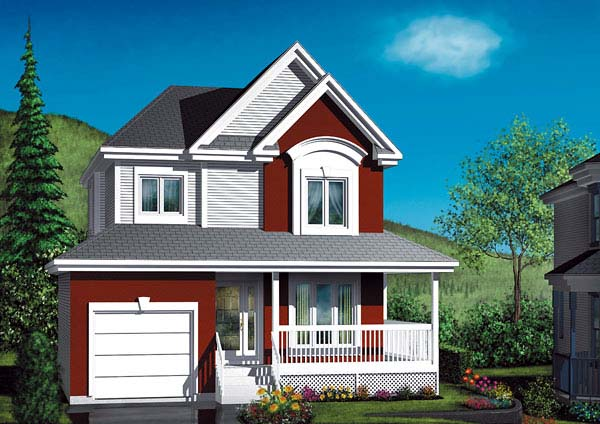 Country House Plan 49404 Elevation