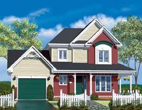 Craftsman House Plan 49409 Elevation