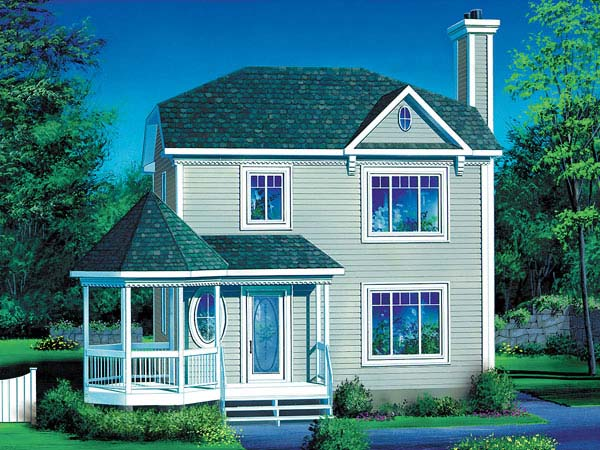 Victorian House Plan 49410 Elevation