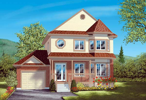 Victorian House Plan 49411 Elevation