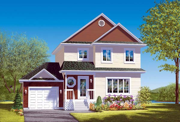 Traditional House Plan 49412 Elevation