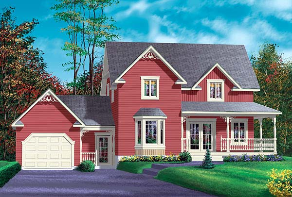 House Plan 49416 Elevation