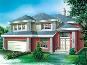Traditional House Plan 49417 Elevation