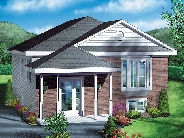 Traditional House Plan 49418 Elevation
