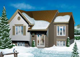 Traditional House Plan 49420 Elevation