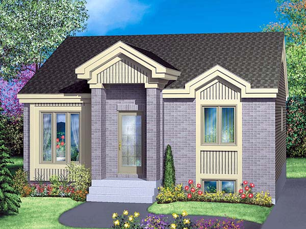 Traditional House Plan 49423 Elevation