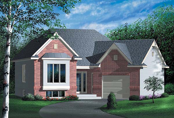 Traditional House Plan 49426 Elevation