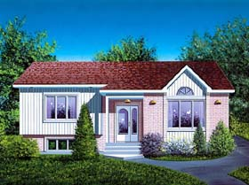 Ranch House Plan 49428 Elevation