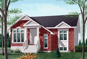 Craftsman House Plan 49442 Elevation