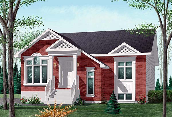 Craftsman House Plan 49442 Elevation