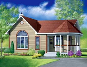 Victorian House Plan 49462 Elevation