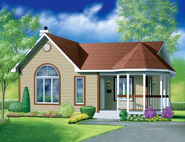 Victorian House Plan 49462 Elevation