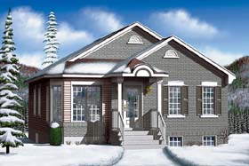 Traditional House Plan 49467 Elevation