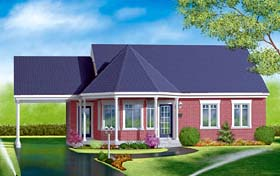 Victorian House Plan 49469 Elevation