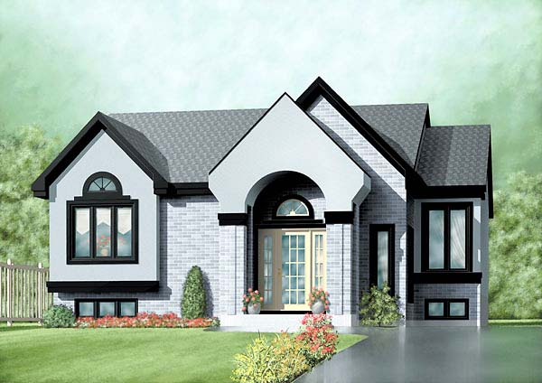 Traditional House Plan 49471 Elevation