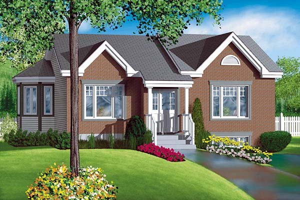 Traditional House Plan 49474 Elevation
