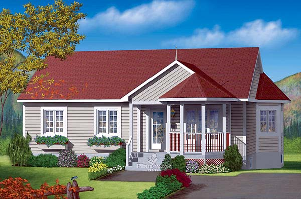 Traditional House Plan 49475 Elevation