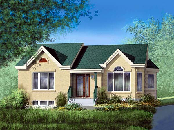 Ranch House Plan 49478 Elevation
