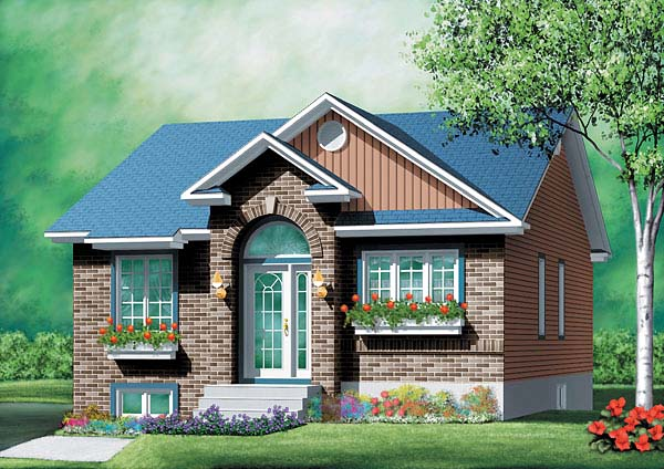 House Plan 49481 Elevation