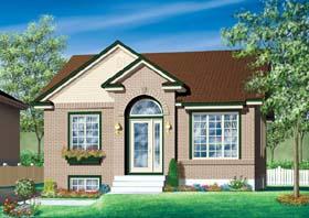 House Plan 49482 Elevation