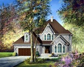 House Plan 49483 Elevation