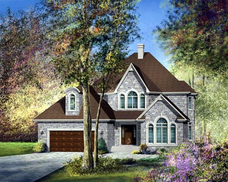 House Plan 49483 Elevation