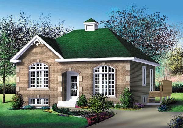 Traditional House Plan 49487 Elevation