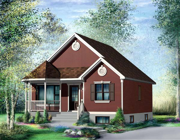 Traditional House Plan 49489 Elevation