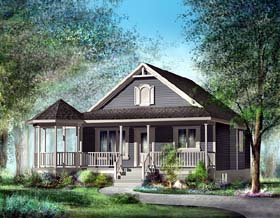 Southern House Plan 49492 Elevation