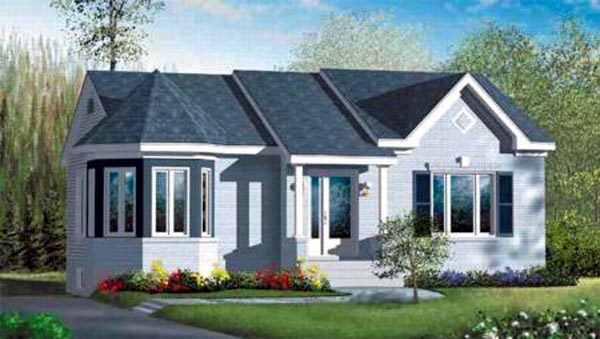 Ranch House Plan 49496 Elevation