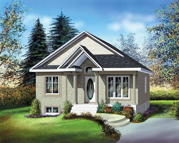 Traditional House Plan 49499 Elevation