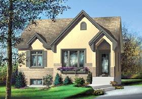 Tudor House Plan 49513 Elevation