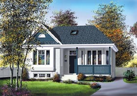 Traditional House Plan 49515 Elevation