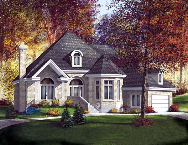 Victorian House Plan 49517 Elevation